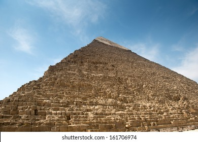 Pyramid of Khafre in Great pyramids ?omplex in Giza