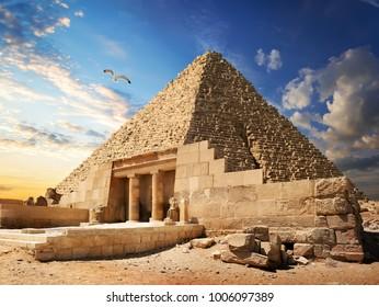 Pyramid near Giza
