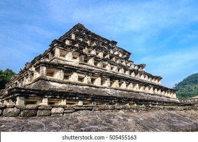 Pyramid of the Niches, El Tajin (Mexico)