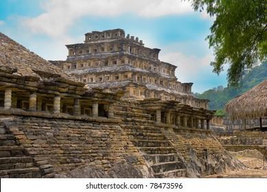 Pyramid Of The Niches, Tajin, Veracruz, Mexico