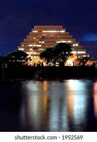Pyramid office building in sacramento ca