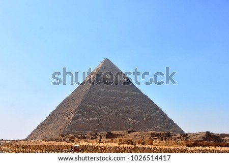 Pyramid on EGYPT
