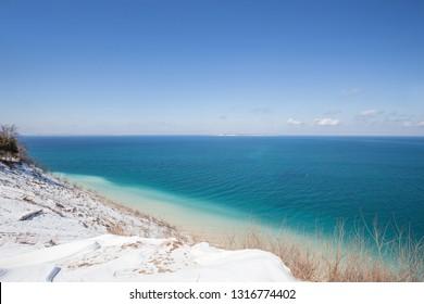 Pyramid Point: Lake Michigan and Sleeping Bear Dunes