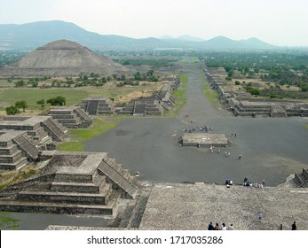 Pyramid of the Sun near Mexico City