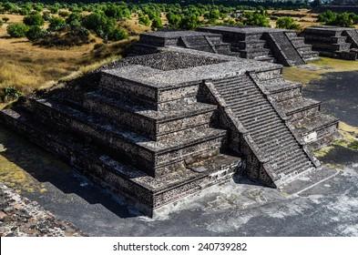 Pyramid in Teotihuacan