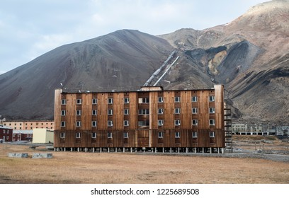 Pyramiden ghost town, Svalbard