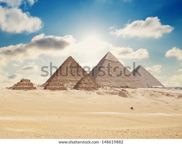 pyramids in giza
