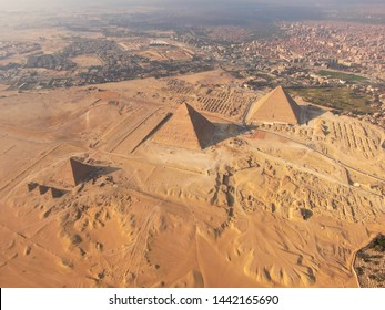 Pyramids of Giza, Giza Plateau, Sphinx - All in one aerial