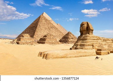 The Pyramids of Giza and the Sphinx, Egypt