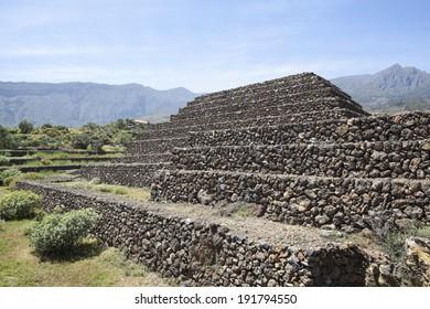 The Pyramids of Guimar on Tenerife