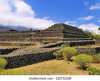 Pyramids in Guimar, Tenerife, Canary Islands, Spain