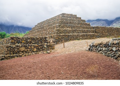 Güimar pyramids, south of Tenerife, Canary Islands, Spain