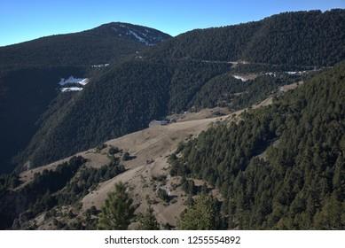 Pyrenees mountains in Andorra (Europe)