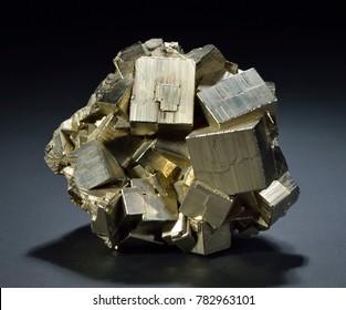 Pyrite, Allanza Mine, Huaron District, Pasco Province, Peru