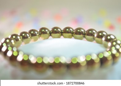 Pyrite Bracelet ,Jewelry For a Healing