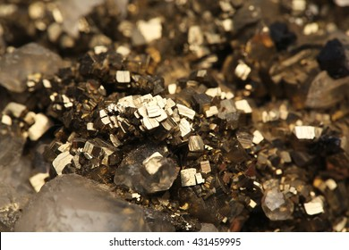 pyrite and crystals mineral/pyrite and crystals mineral