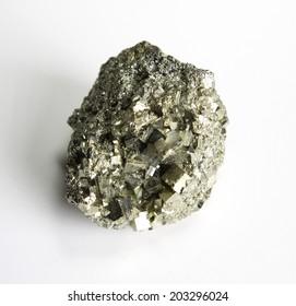 Pyrite mineral pattern