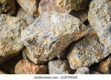 Pyrite stones for sale at the Thai-Cambodia border market. The mineral pyrite, or iron pyrite, also known as fool's gold, is an iron sulfide with the chemical formula FeS2.