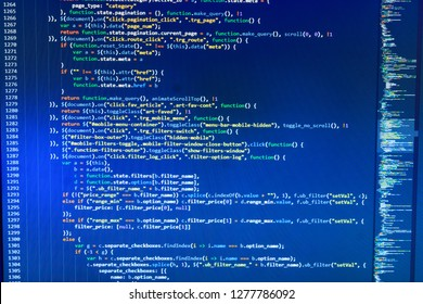 Python binary code,  Hacker background,  Programming source code HTML for Website development,  Programmer typing new lines of HTML code,  Mobile application design Concept,  HTML code on laptop
