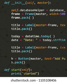 Python Code in Sublime Text Editor