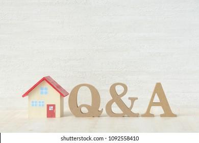 Q & A about hosue problems
