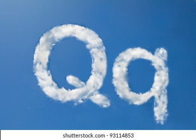 q font clouds