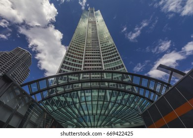 Q1 BUILDING SKYPOINT, GOLD COAST,AUSTRALIA-18th APRIL 2016:-The q1 building is the tallest building on the gold coast affording excellent views of the gold coast beaches and hinterland