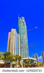 Q1 High-rise Hotels Surfers Paradise Queensland Australia