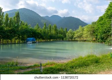 Qabala Azerbaijan Landscape