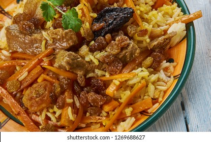 Qabili Pulao, Kabuli palaw - most popular dish in Afghanistan