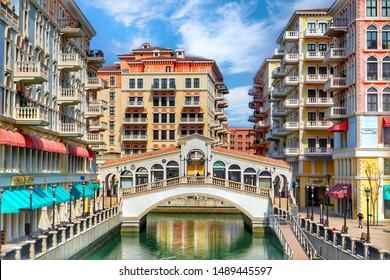 Qanat Quartier is a little Venice in Pearl Qatar, Doha - 08/26/2019