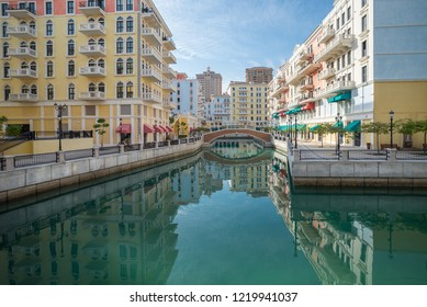 Qanat Quartier at the Pearl, Doha, Qatar