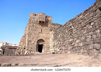 Qasr al-Azraq (is one of the Desert castles) - medieval fort where Thomas Edward Lawrence (Lawrence of Arabia) based his operations during the Arab Revolt, Jordan