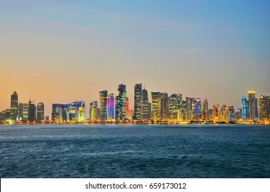 Qatar doha is an arabian country situated near Persian gulf.the country is economical developed.