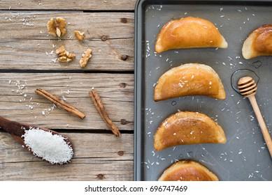 Qatayef, Arabic sweets for Ramadan