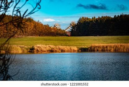 QE2 Lake, Ashington.