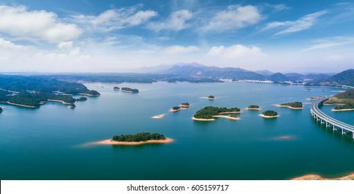 Qiandao Lake of China