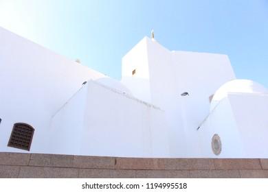 The Qibla in Saudi Arabia