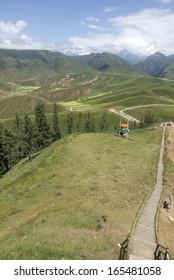 Qilian mountain landscapes