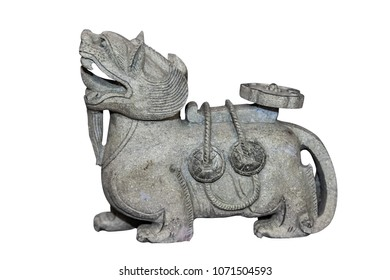 Qilin Stone Carving Crafts