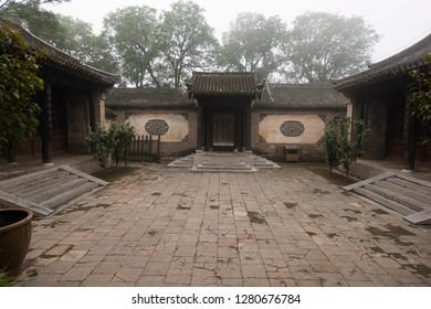 qing dynasty courtyard baoding China