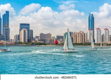 Qingdao, a beautiful coastal city