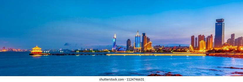 Qingdao's beautiful city scenery