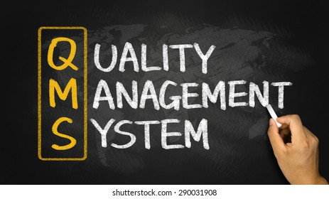 qms concept:quality management system on blackboard