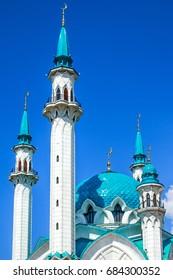 Qol Sharif mosque in the capital of Tatarstan the city of Kazan, Russia