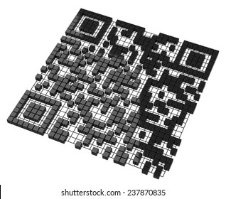 the QR code