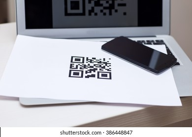 Qr Code Print Stock Photos, Images & Photography | Shutterstock