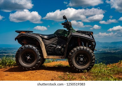 Quad on top of Fiji Mountains