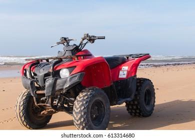 Quad Tour at the beach in Essaouira (Morocco)