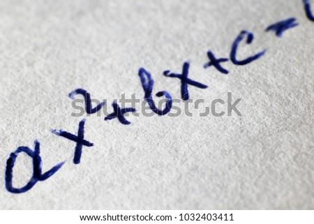 written in the paper